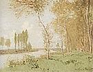 Springtime at Argenteuil, 1872 - Claude Monet reproduction oil painting