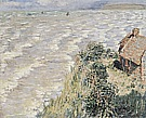 Customs House at Varengeville, 1882 - Claude Monet reproduction oil painting