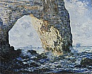 The Manneporte, 1883 - Claude Monet reproduction oil painting