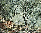Olive Grove in the Moreno Garden, 1884 - Claude Monet reproduction oil painting