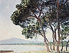 The Beach at Juan-les-Pins, 1888 - Claude Monet reproduction oil painting