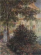 Camille Monet in the Garden at Argenteuil, 1876 - Claude Monet reproduction oil painting