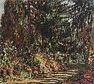 Path through the Garden at Giverny, 1902 - Claude Monet reproduction oil painting