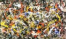No 10 Convergence 1952 - Jackson Pollock