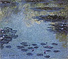 Water Lilies, 1906 - Claude Monet reproduction oil painting
