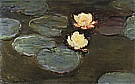 Water Lilies, 1897-98 - Claude Monet reproduction oil painting