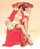 Untitled VB2 - Pin Ups reproduction oil painting