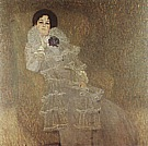 Portrait of Marie Henneberg, 1901 - Gustav Klimt reproduction oil painting