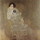 Portrait of Marie Henneberg, 1901 - Gustav Klimt reproduction oil painting