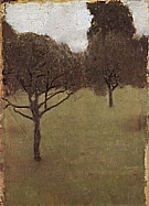 Orchard, 1898 - Gustav Klimt reproduction oil painting