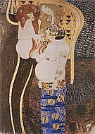 Beethoven Frieze Detail, 1902 - Gustav Klimt