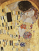 Kiss Detail, 1907/1908 - Gustav Klimt reproduction oil painting