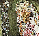 Death and Life, 1916 - Gustav Klimt reproduction oil painting