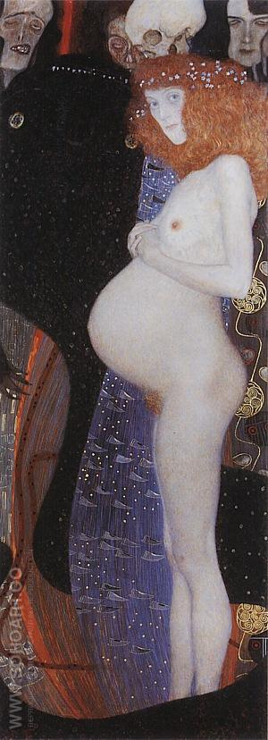 Hope I, 1903 - Gustav Klimt reproduction oil painting