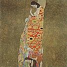 Hope II, 1907/08 - Gustav Klimt reproduction oil painting