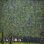 The Park, 1910 - Gustav Klimt reproduction oil painting