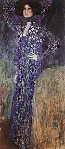 Portrait of Emilie Floge, 1902 - Gustav Klimt