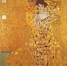 Portrait of Adele Bloch-Bauer I, 1907 - Gustav Klimt reproduction oil painting