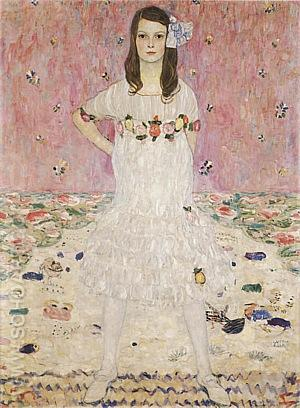 Portrait of Mada Primavesi, 1912 - Gustav Klimt reproduction oil painting