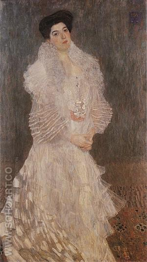 Portrait of Hermine Gallia, 1903/04 - Gustav Klimt reproduction oil painting
