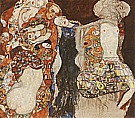 The Bride (unfinished), 1917/18 - Gustav Klimt reproduction oil painting