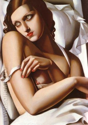 The Convalescent 1932 - Tamara de Lempicka reproduction oil painting