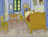 Bedroom in Arles - Vincent van Gogh reproduction oil painting