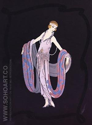 Gala - Erte reproduction oil painting