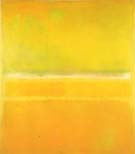 No 14 No 10  Yellow Green - Mark Rothko