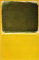 No 16 Green White Yellow Yellow 1951 - Mark Rothko