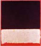 Untitled 1958 Black White Red - Mark Rothko