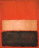 No 46 Red, Ochre Black on Red 1957 - Mark Rothko