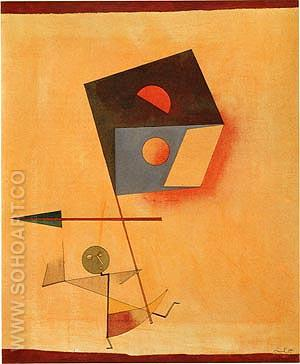 Conqueror 1930 - Paul Klee reproduction oil painting