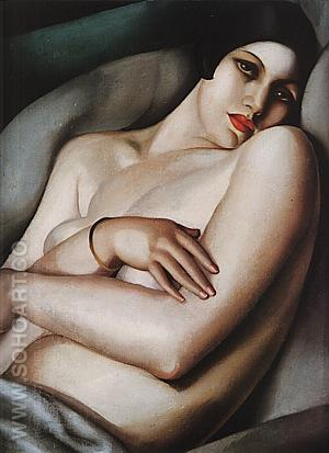 The Dream, 1927 - Tamara de Lempicka reproduction oil painting
