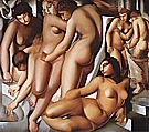 Woman Bathing, 1929 - Tamara de Lempicka reproduction oil painting