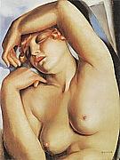 Sleeping Girl 1930 - Tamara de Lempicka