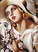 The Straw Hat, 1930 - Tamara de Lempicka