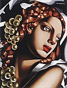 The Brilliance 1932 - Tamara de Lempicka reproduction oil painting