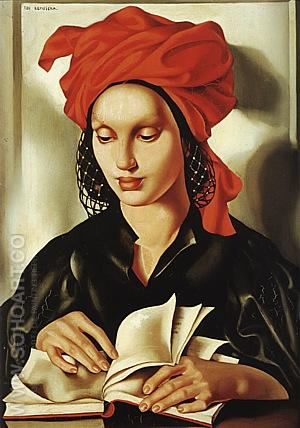 Bibliographie, 1940 - Tamara de Lempicka reproduction oil painting
