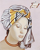 The Gray Turban II, 1945 - Tamara de Lempicka reproduction oil painting