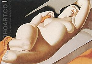 La Belle Rafaela II 1957 - Tamara de Lempicka reproduction oil painting