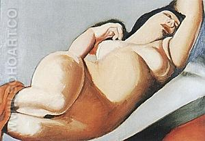 La Belle Rafaela III1979/80 - Tamara de Lempicka reproduction oil painting