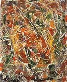 Croaking Movement 1946 - Jackson Pollock