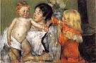After the Bath 1901 - Mary Cassatt reproduction oil painting