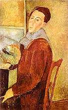 Self-Portrait 1919 - Amedeo Modigliani
