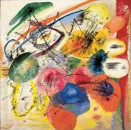 Black Lines 1913 - Wassily Kandinsky reproduction oil painting