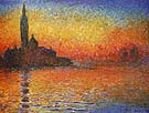Venice at Sunset - Claude Monet reproduction oil painting