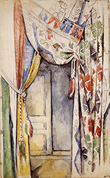 Curtains 1885 - Paul Cezanne reproduction oil painting