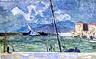 the Harbour at Cannes - Pierre Bonnard reproduction oil painting