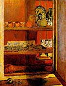 The Red Cupboard 1939 [Le Placard Rouge] - Pierre Bonnard reproduction oil painting